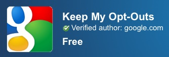 Keep My Opt-Outs Chrome Web Store